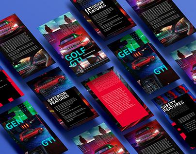 Volkswagen Middle East Golf GTI 2021 Press Pack