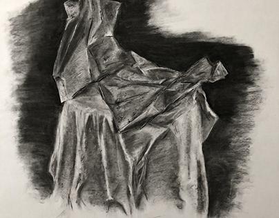 Various charcoal drawings 2018 / 2019