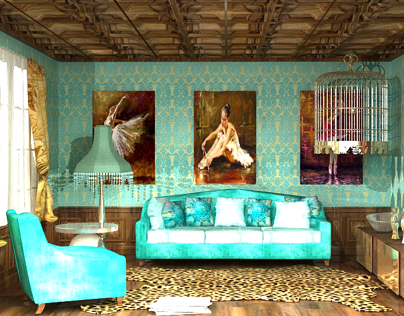 3dmax/Vray/2010/NeoClassical Livingroom 2013