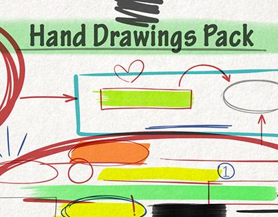 Hand Drawings Pack