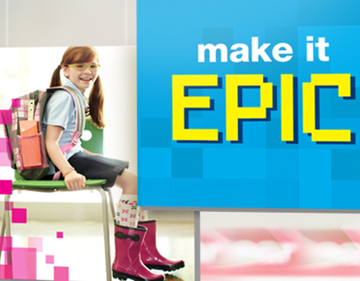 Kmart Back To School Campaign