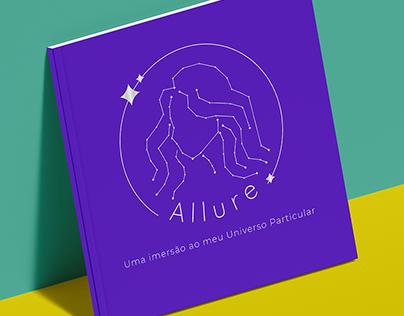 Allure | catálogo para exposição artística