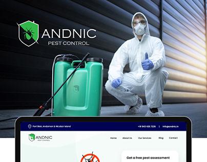 ANDNIC Pest Control - Website