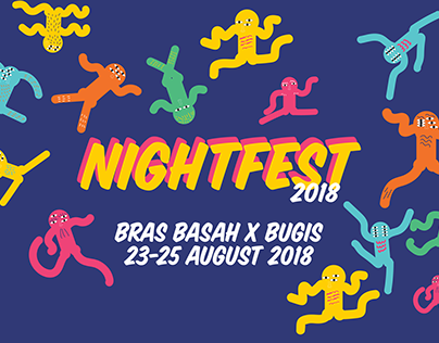 Night Fest 2018 (Adobe Muse)