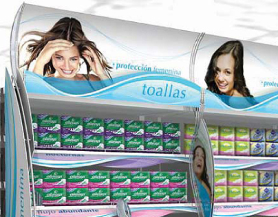 Always and Tampax  |  In-Store Experience, 2005