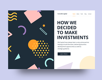 Growth Capital Landing Page
