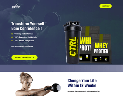 WHEY PROTEIN PRODUCT CARTFLOW
