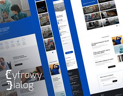 Cyfrowy Dialog | Website