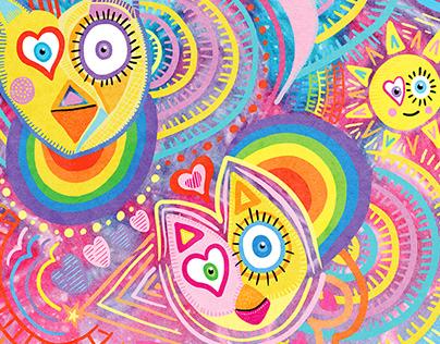 Doodle Expolosion | Digital Illustration