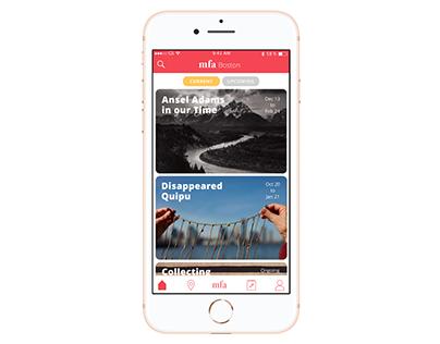 MFA Boston App Design