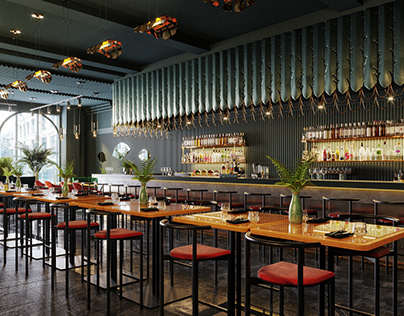 Proper Cafe Bar Design