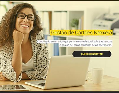Landing Page Gestão de Cartões :: Grupo Nexxera