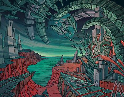 IOISH - Reconstructing Dreams / album artwork