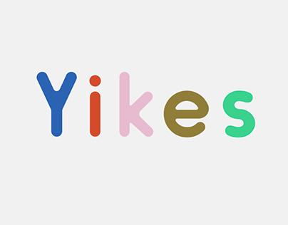 Yikes: Typeface