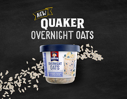 Quaker - Steep, Sleep & Eat