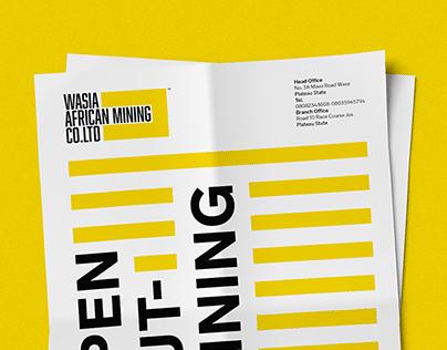 WASIA AFRICAN MINING - REBRANDING