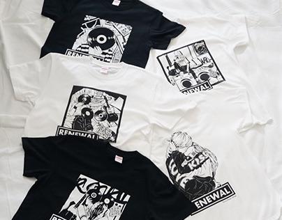 Sony Music Shop RENEWAL T-shirt