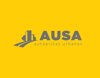 AUSA (Autopistas Urbanas) - Re-Branding