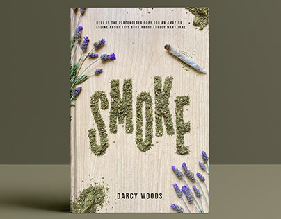 SMOKE / Cover & lettering design for Penguin Editorial