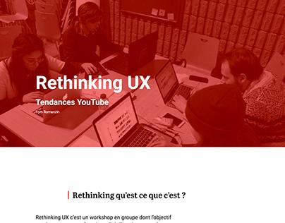 Tendances Youtube -Rethinking-UX