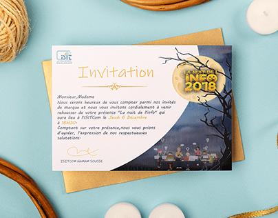 invitation d'évènement