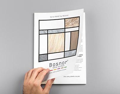 Maquetación Catálogo Print para Bosnor
