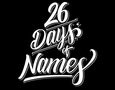 26 Days of Names