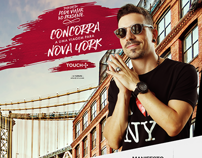 Landing Page I Campanha Touch Namorados -  Di Ferrero