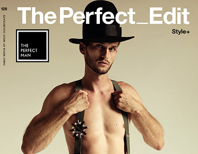 """Discreet Charm"" editorial for PERFECT MAN magazine"