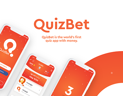 QuizBet App - New look - UI and brand