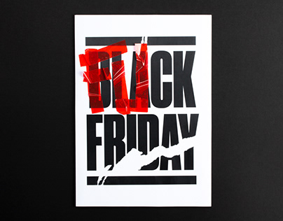 BLA(FU)CK FRIDAY POSTER