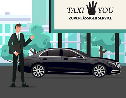 Taxi For You - 2D Video Animations