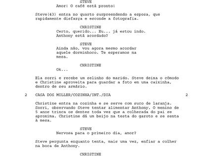 """ROTEIRO - CURTA METRAGEM: """"UM TOQUE DO DESTINO"""""""