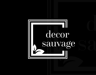 Decor Sauvage - Logo | Branding | Website Interface