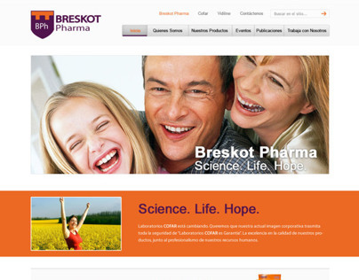 Cofar website redesign proposal