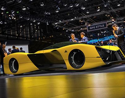 EXO - Exoskeleton Concept Coupe