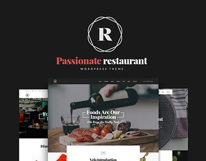 Restaurant - Restaurant, Cafe, Bar WP Theme