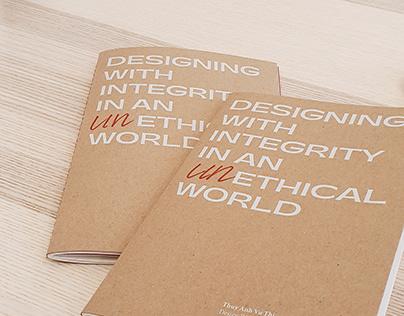 {bachelor thesis} design ethics vs. client