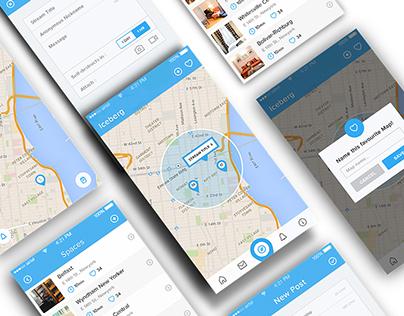 Iceberg iOS App