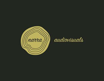 Narra audiovisuals Branding