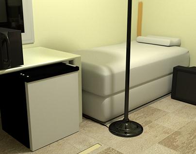 Bedroom Project, alternate lighting