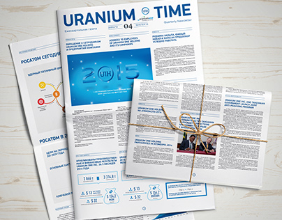 Uranium One Holding regular newspaper