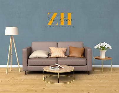 Zeit home's furnitureBranding