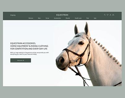 EQUESTRIAN horse equipment & riding clothing website