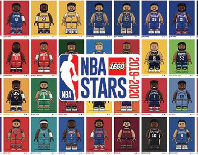 NBA LEGO STARS 2019-2020 // All 30 TEAMS // 36 PLAYERS