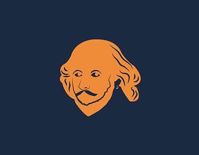 Shakespear book store logo