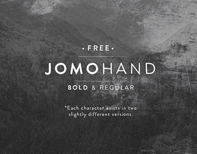 JOMOHAND - FREE FONT
