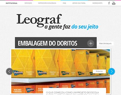 Leograf Website