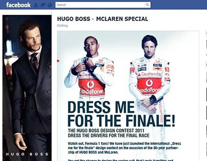 Hugo Boss F1 Cooperation McLarren