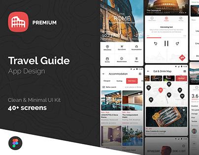 Travel Guide App Design UI Kit